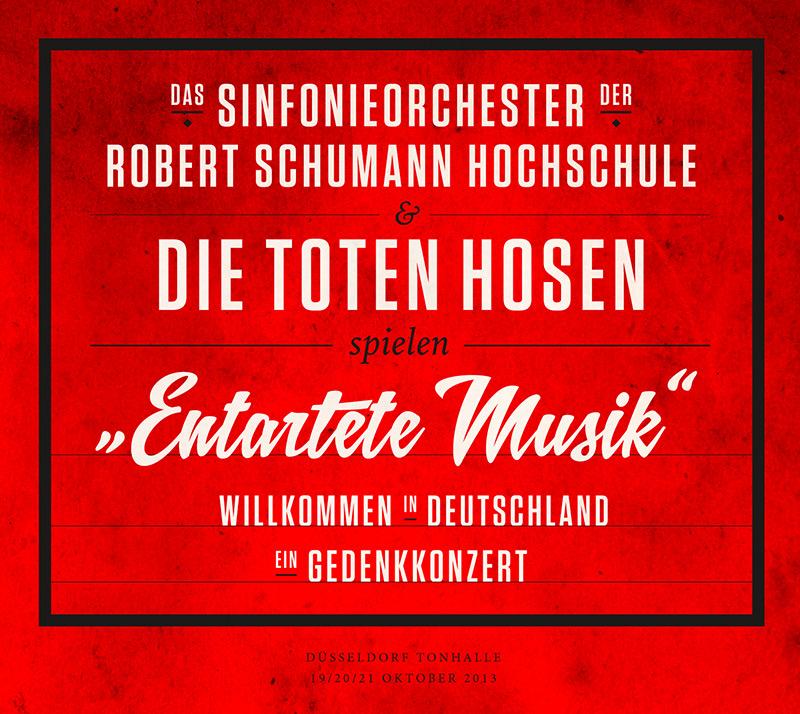"""Das Sinfonieorchester der RSH & Die Toten Hosen spielen """"Entartete Musik"""""""